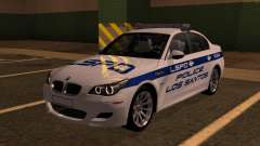 BMW M5 E60 Police LS pour GTA San Andreas
