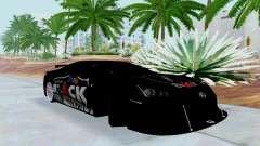 Lexus LFA Street Edition Djarum Black für GTA San Andreas