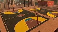 Neuer Basketballplatz