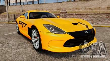 Dodge Viper SRT GTS 2013 für GTA 4