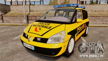 Renault Espace Police Nationale [ELS] pour GTA 4