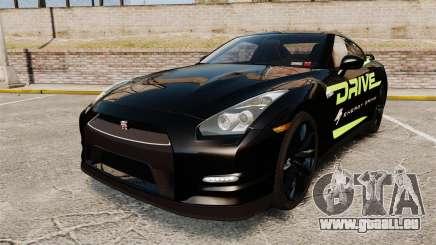 Nissan GT-R Black Edition 2012 Drive pour GTA 4