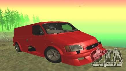 Ford Transit Supervan 3 Custom für GTA San Andreas