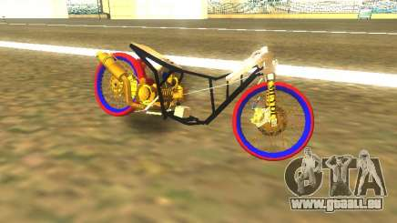 Drag Mio Full GOLD pour GTA San Andreas