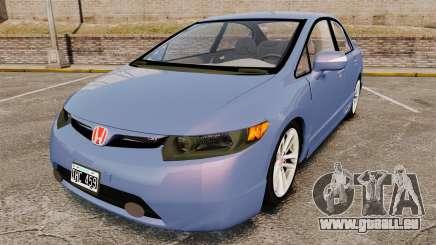 Honda Civic Si 2008 pour GTA 4
