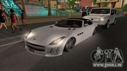 Benefactor Surano GTA V für GTA San Andreas