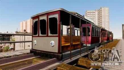 Straßenbahn von San Andreas für GTA 4