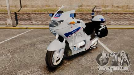 BMW R1150RT Police nationale [ELS] v2.0 pour GTA 4