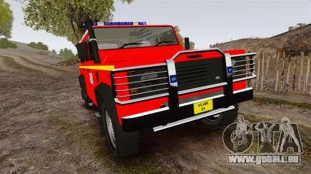 Land Rover Defender VLHR SDIS 42 [ELS] pour GTA 4