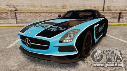 Mercedes-Benz SLS 2014 AMG Black Series Area 27 für GTA 4