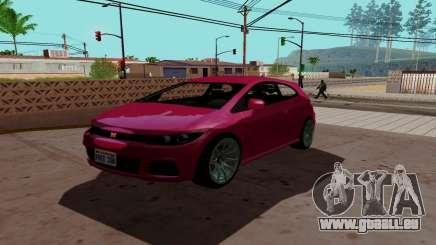 Dinka Blista GTA V für GTA San Andreas