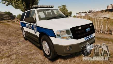 Ford Expedition LCPD SSV v2.5F [ELS] für GTA 4