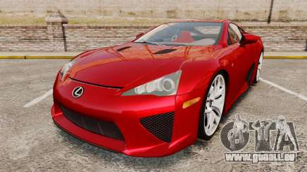 Lexus LF-A 2010 v2.0 [EPM] Final Version pour GTA 4