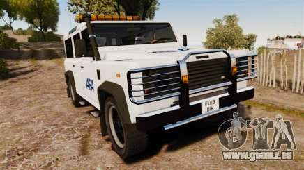 Land Rover Defender AFA [ELS] pour GTA 4