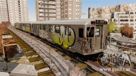 De nouveaux graffitis pour metrowakonowa pour GTA 4