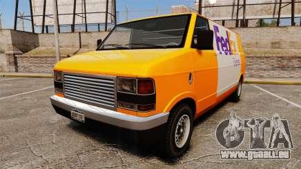 Brute Pony FedEx Express für GTA 4