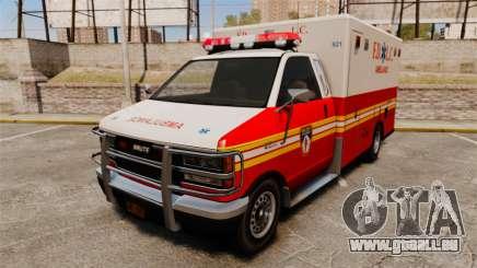 Brute FDLC Ambulance pour GTA 4