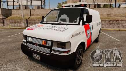 Vapid Speedo U.S. Coast Guard pour GTA 4