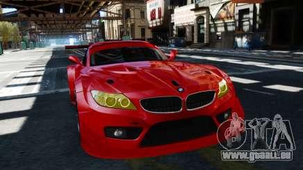 BMW Z4 GT3 2012 pour GTA 4