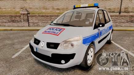 Renault Scenic Police Municipale [ELS] pour GTA 4