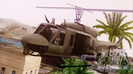 Bell UH-1N Twin Huey pour GTA San Andreas