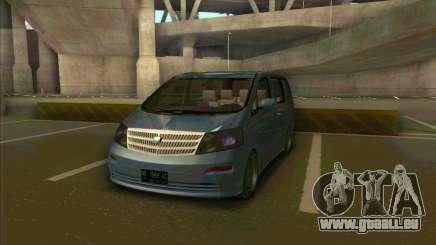 Toyota Alphard für GTA San Andreas