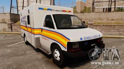 Brute Speedo LEMS Ambulance [ELS] pour GTA 4