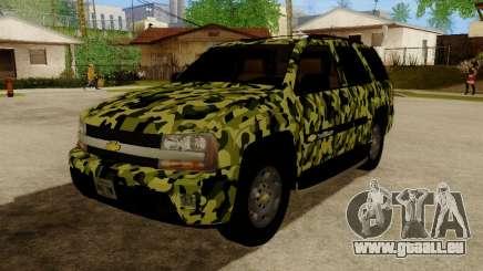 Chevrolet TrailBlazer Army pour GTA San Andreas