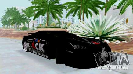Lexus LFA Street Edition Djarum Black für GTA San Andreas