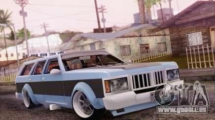 Regina Widebody V8 für GTA San Andreas