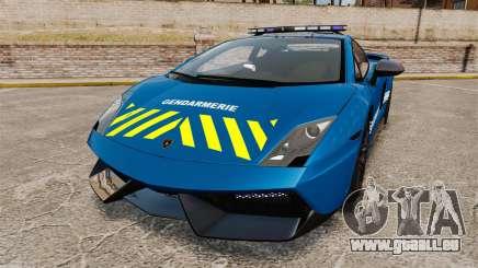 Lamborghini Gallardo Gendarmerie National [ELS] für GTA 4