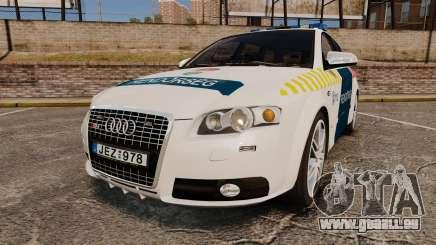 Audi S4 Avant Hungarian Police [ELS] pour GTA 4