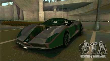 Cheetah Grotti GTA V für GTA San Andreas