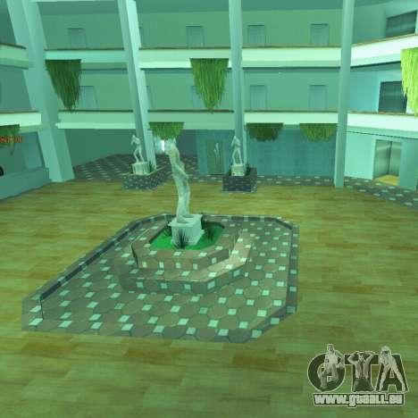 Nouvel intérieur de la radio-centre pour GTA San Andreas
