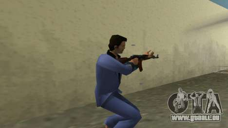 Kalachnikov Modernisé pour le quatrième écran GTA Vice City