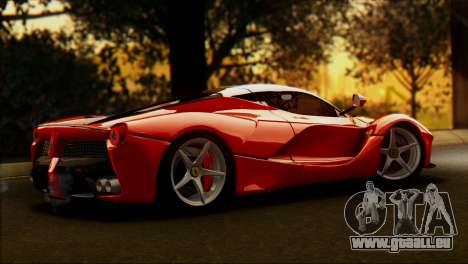 Ferrari LaFerrari 2014 für GTA San Andreas linke Ansicht