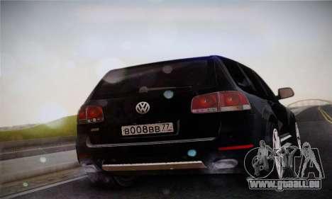 Volkswagen Touareg 2010 pour GTA San Andreas laissé vue