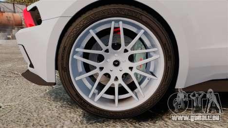 Ford Mustang GT 2013 NFS Edition pour GTA 4 Vue arrière