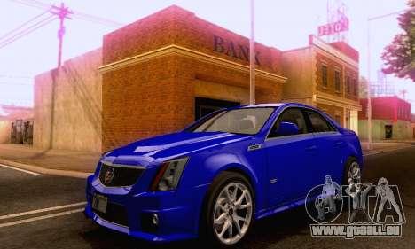 Cadillac CTS-V Sedan 2009-2014 pour GTA San Andreas