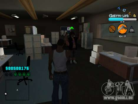 C-HUD new A.C.A.B für GTA San Andreas siebten Screenshot