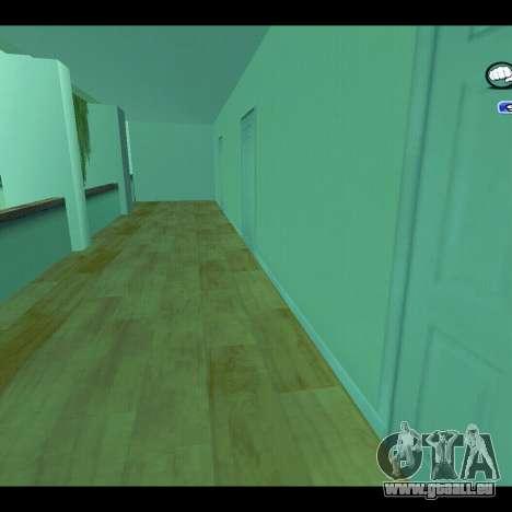 Nouvel intérieur de la radio-centre pour GTA San Andreas deuxième écran