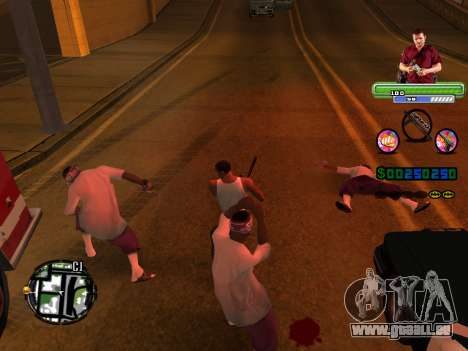 C-HUD Michael (GTA V) pour GTA San Andreas