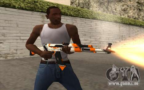 AK-47 für GTA San Andreas her Screenshot
