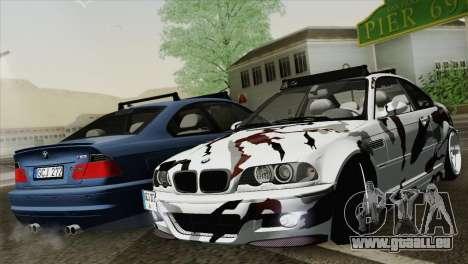 BMW M3 E46 Camo für GTA San Andreas