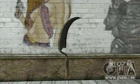 Vieux marteau rouillé pour GTA San Andreas deuxième écran