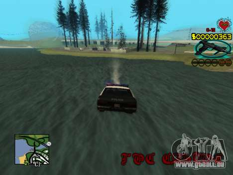 C-HUD Guns pour GTA San Andreas sixième écran