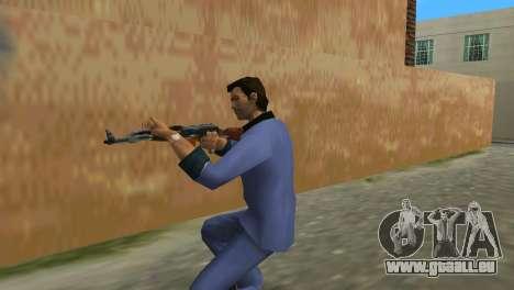 Kalaschnikow Modernisiert für GTA Vice City dritte Screenshot