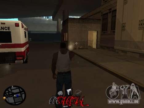 C-HUD Coca-Cola pour GTA San Andreas troisième écran