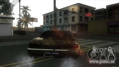 Elegy Fail Crew by Black pour GTA San Andreas sur la vue arrière gauche