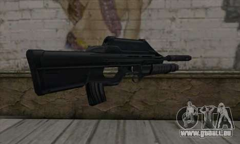 SC-20K Assault Rifle für GTA San Andreas zweiten Screenshot